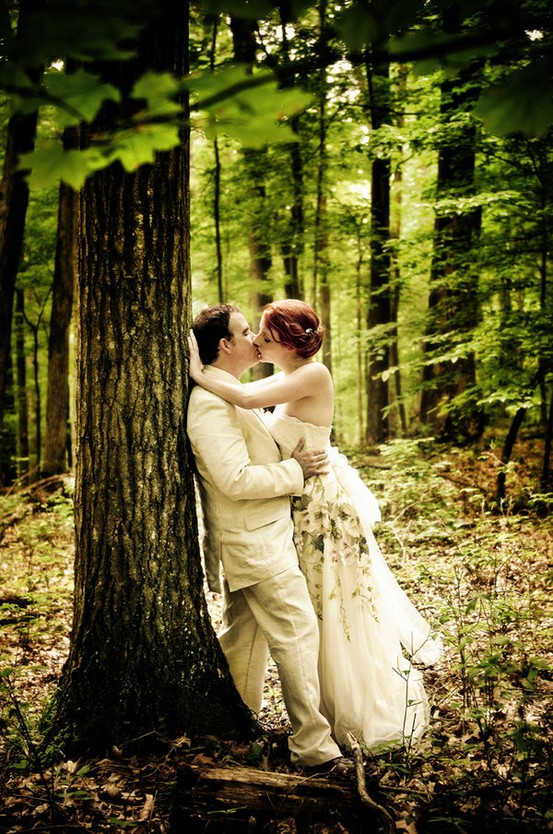 Wedding in the Woods | Tied Bow Inspiration