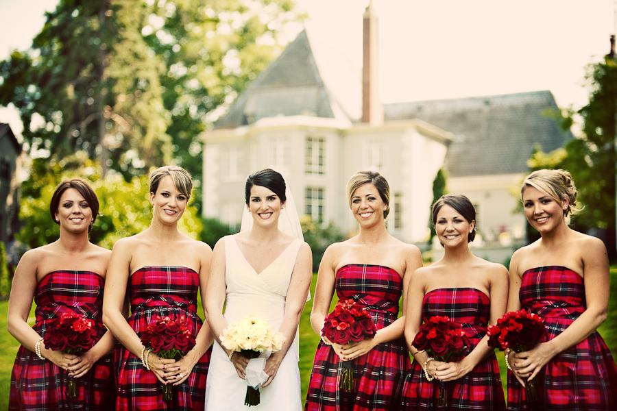 Christmas Bridesmaid Dresses