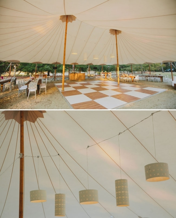 August Weddings Canopies Tents And Fans Tied Bow